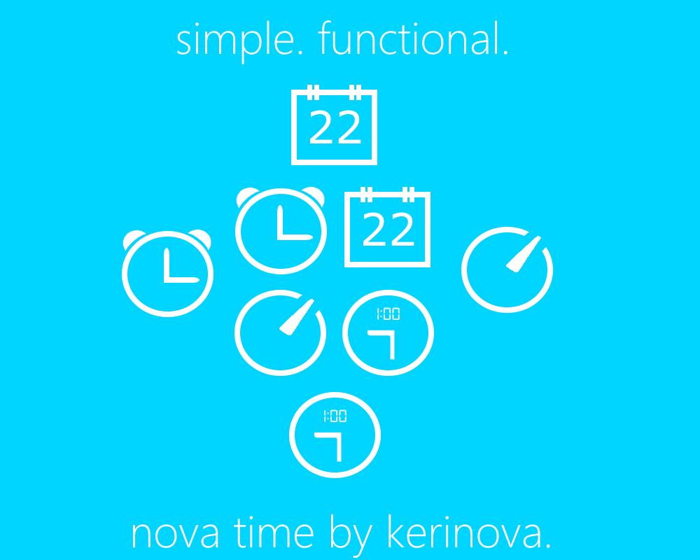 Nova Time Promo Image